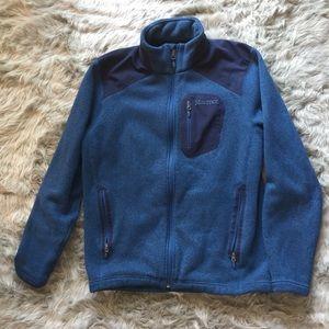 Marmot Blue Fleece